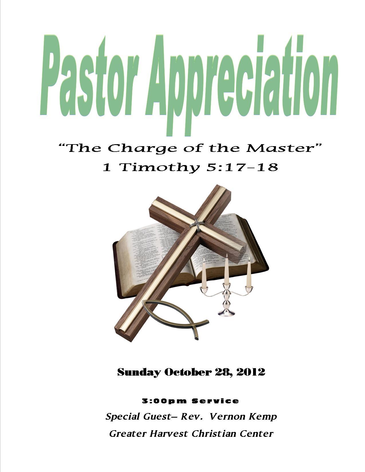 Clergy Appreciation Clipart