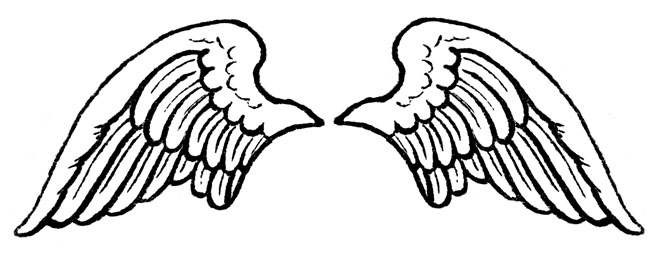 Cli Black And Angel Outline Clip Art Christmas Angel Cli Angel Is