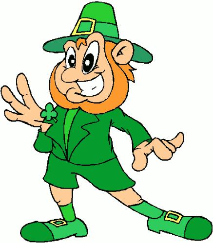 ... Click free funny St Patricku0026#39;s Day Irish leprechaun graphic image, happy smiling leprechaun with a