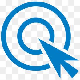 blue arrow, Click, Arrow, Blue PNG Image and Clipart