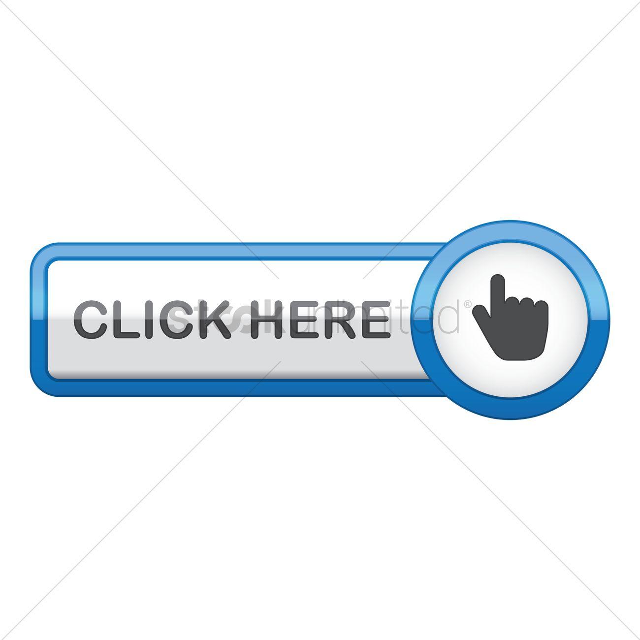 click here web button vector graphic