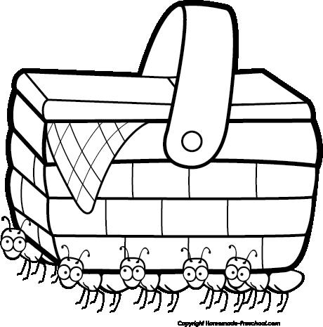 Click to Save Image. Angular Picnic Basket