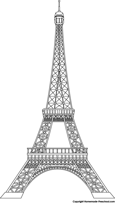 Click to Save Image. Eiffel Tower Bold