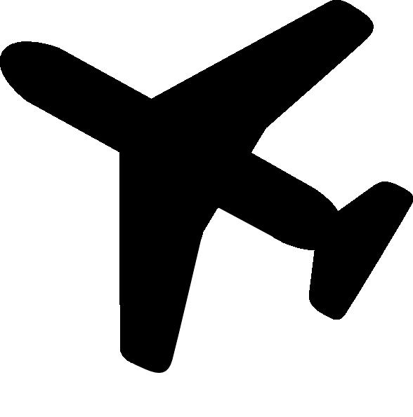Clip art airplane silhouette clipart kid