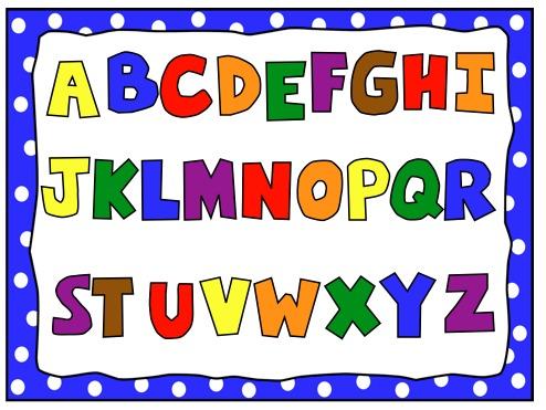 Clip Art Alphabet u0026middot; Beginner S English Arjan Graham .