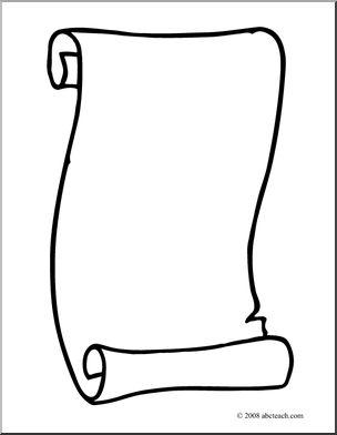 clip art ancient scroll .