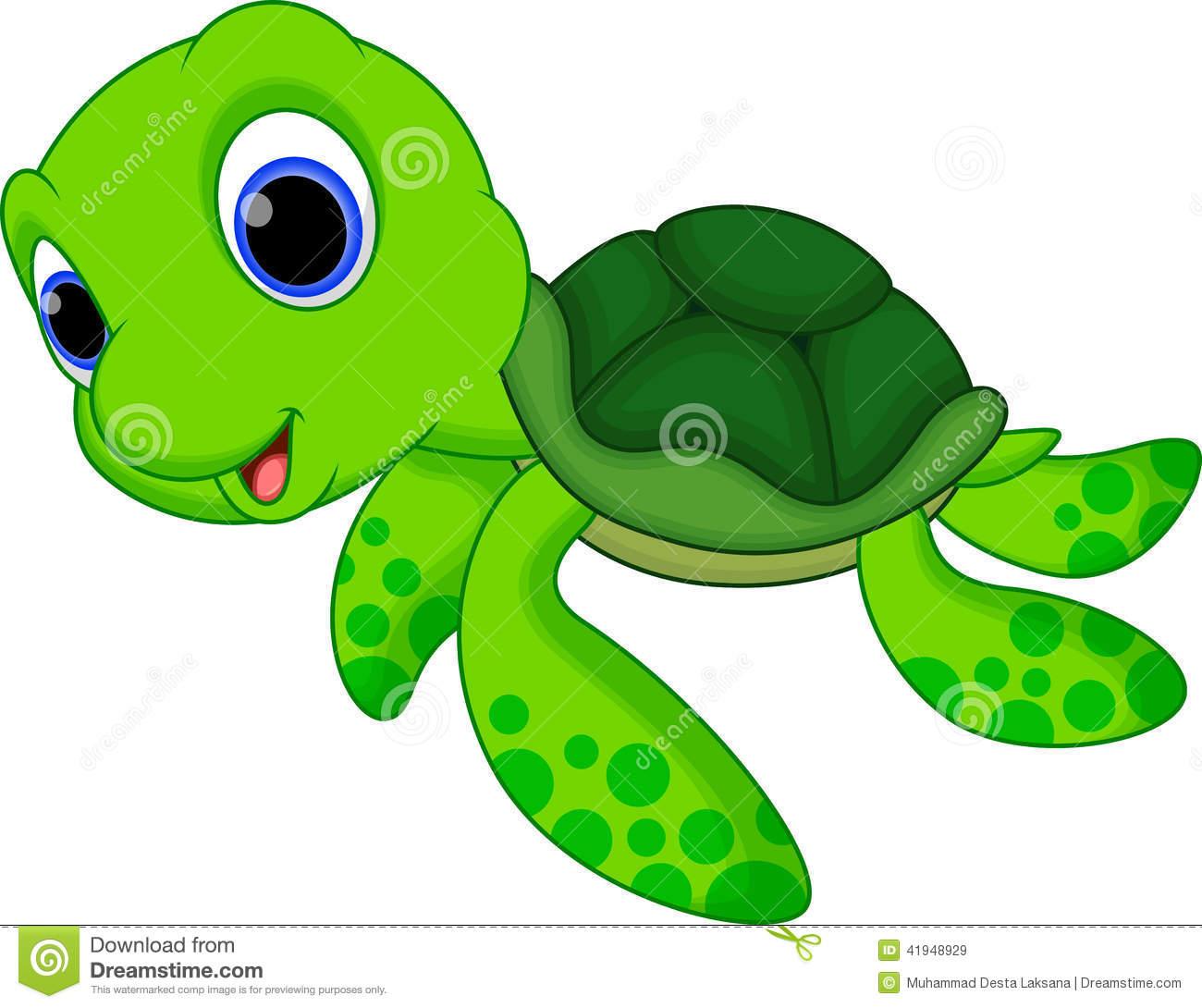 Clip Art Baby Sea Turtle Cute Turtle Cartoon Royalty