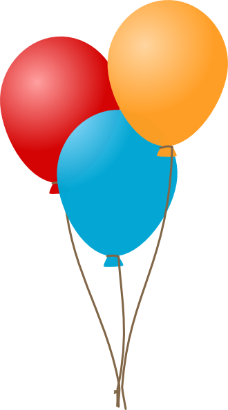 Clip art balloons clipart image