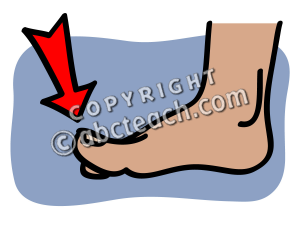 ... clip art basic words toe color unlabeled preview 1 ...