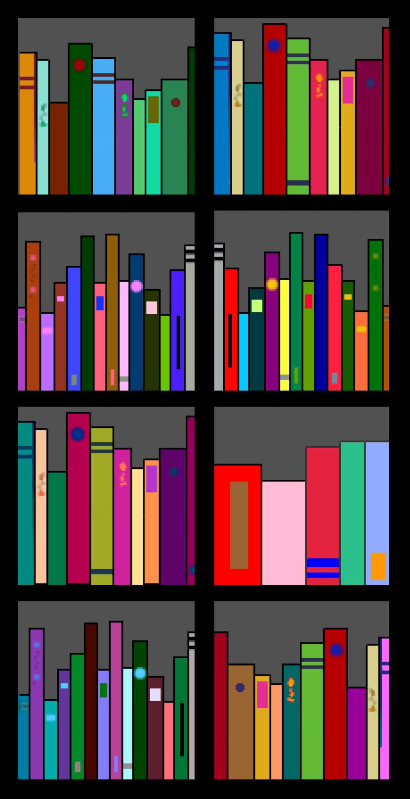 Clip Art Bookshelf Shelf 2 Openclipart Org 3