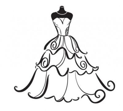 Clip art bride