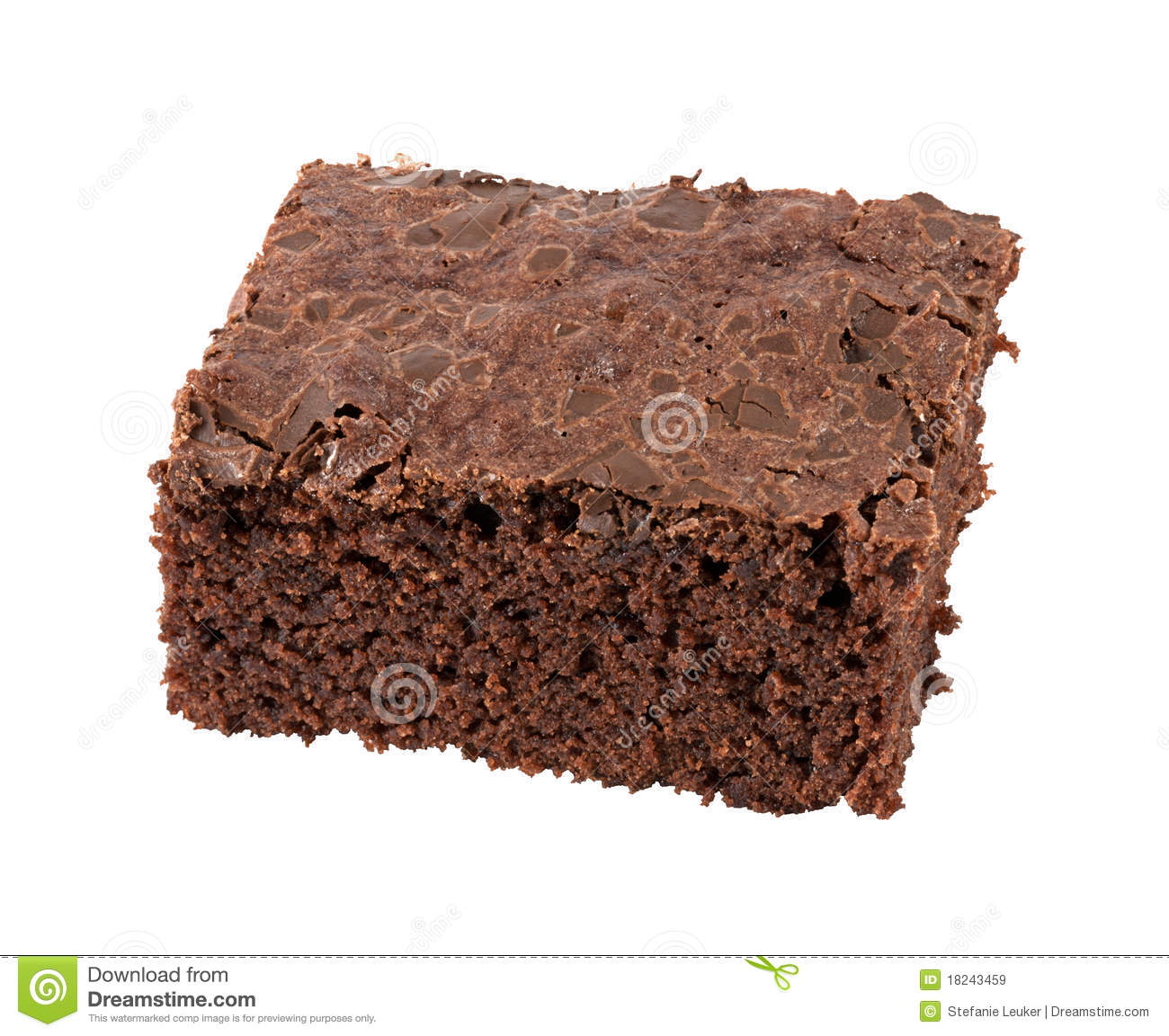 Clip Art Brownie Isolated Brownie Royalty Free