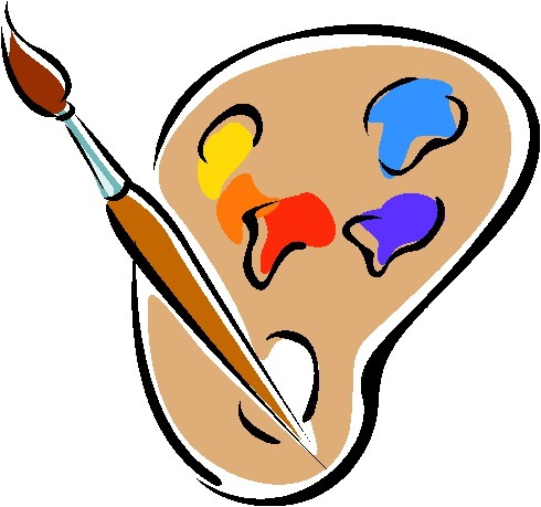 Clip art cartoon face paint clipart kid 2