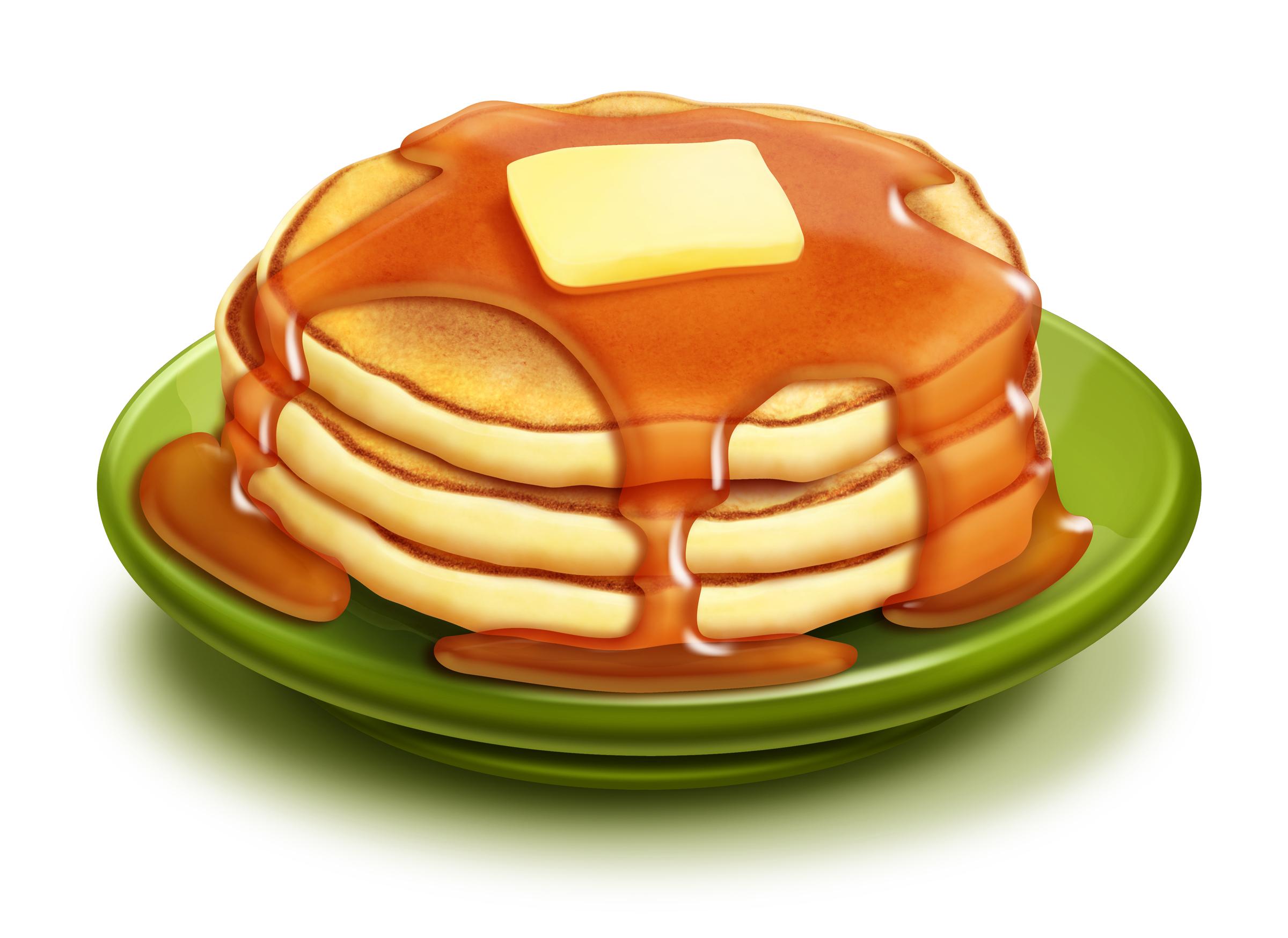 Clip Art Cartoon Pancakes Clipart