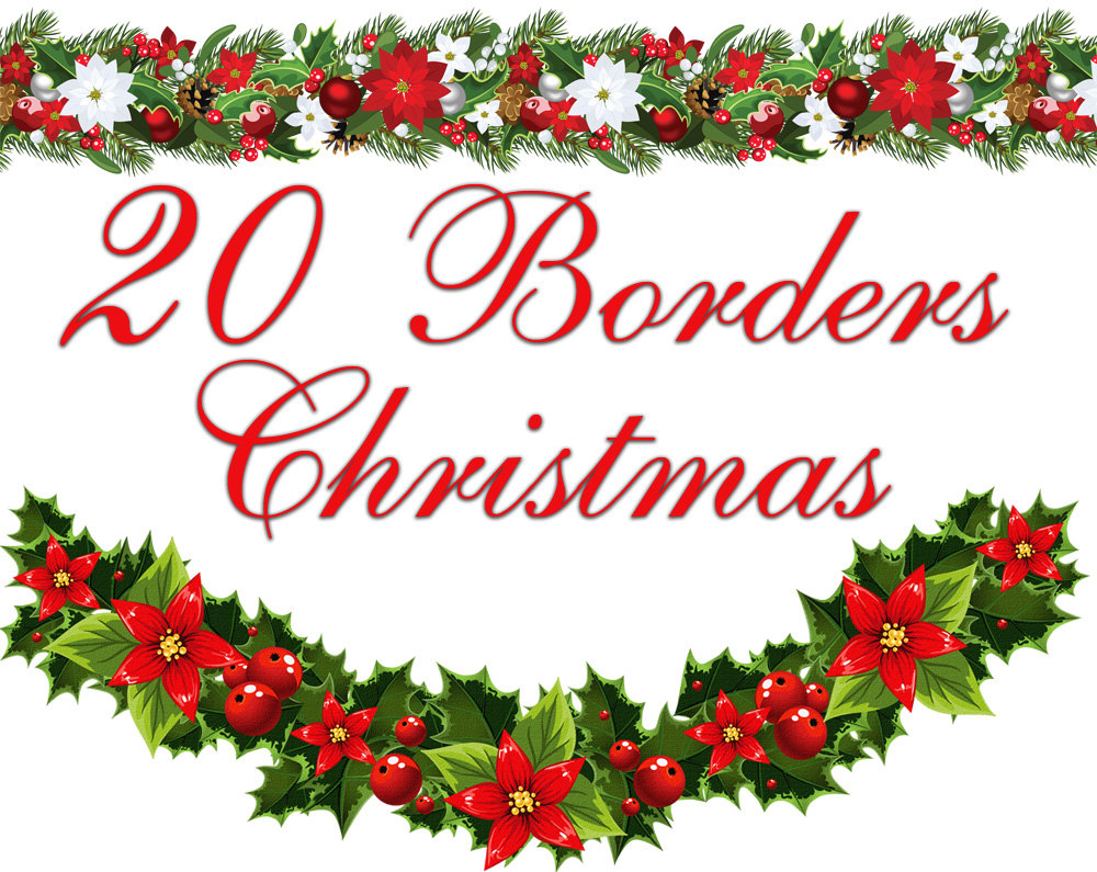 Clip Art Christmas Border Clip Art Free free christmas border clip art for word clipartall borders