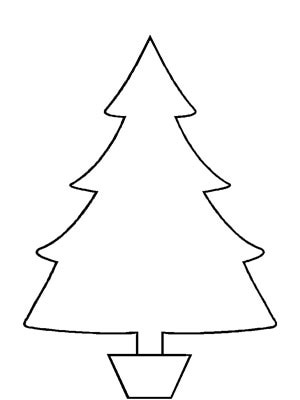 Clip Art Christmas Tree Outline Clipart Panda Free Clipart Images