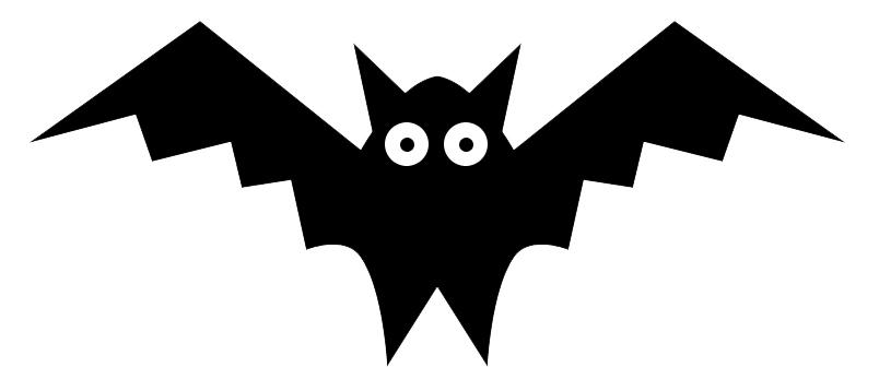 Clip art clip art bats image