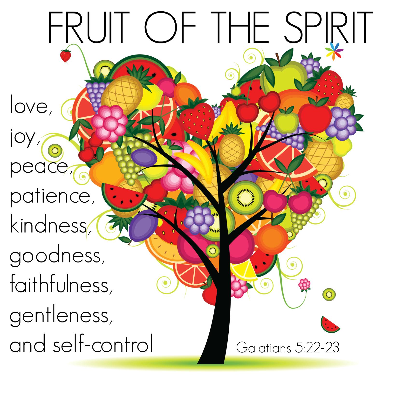Clip Art for Faithfulness Fruit of the Spirit