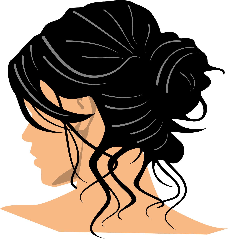 Clip Art Girl Hair Clipart Best
