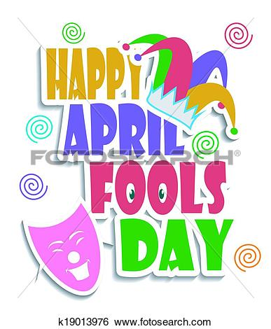 Clip Art. Happy April Fools day
