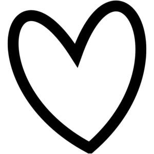Clip Art Heart Outline Clipart. b1aa79e596f43ed2220597f272699a .