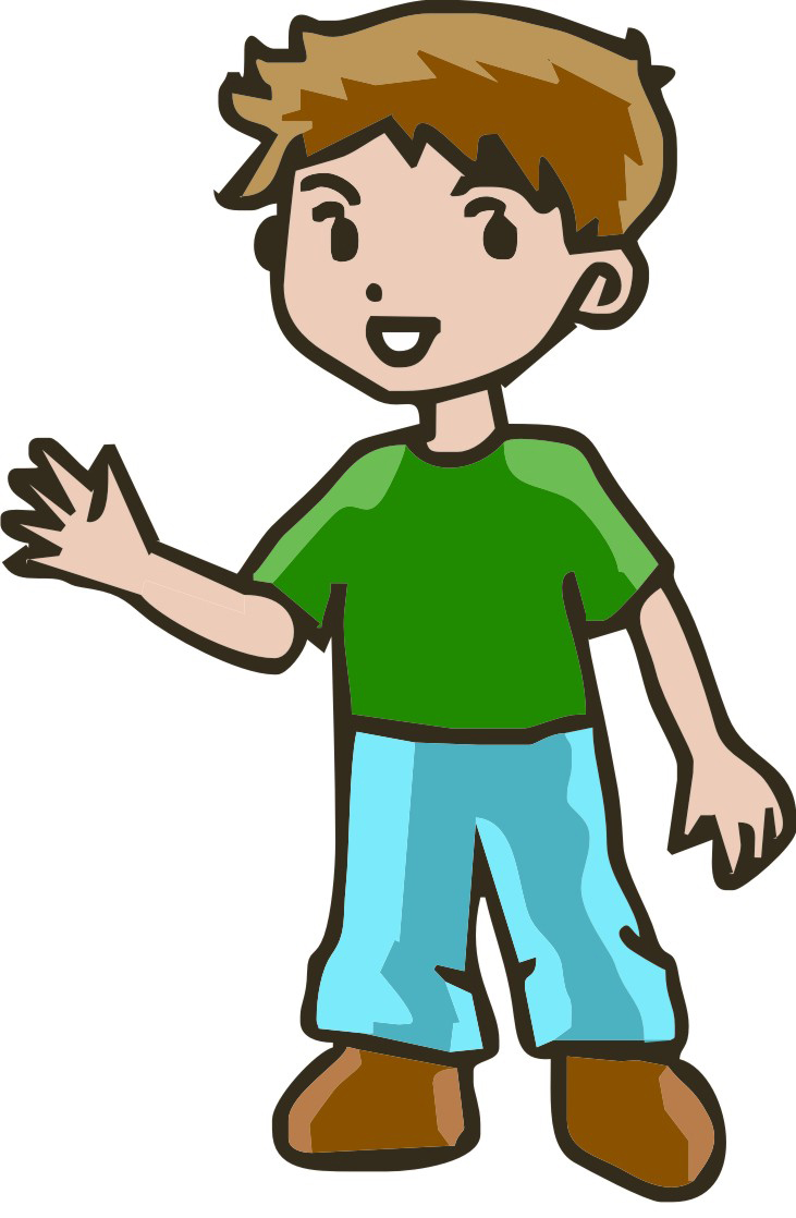 Clip art images of strong boy clipart clipart kid