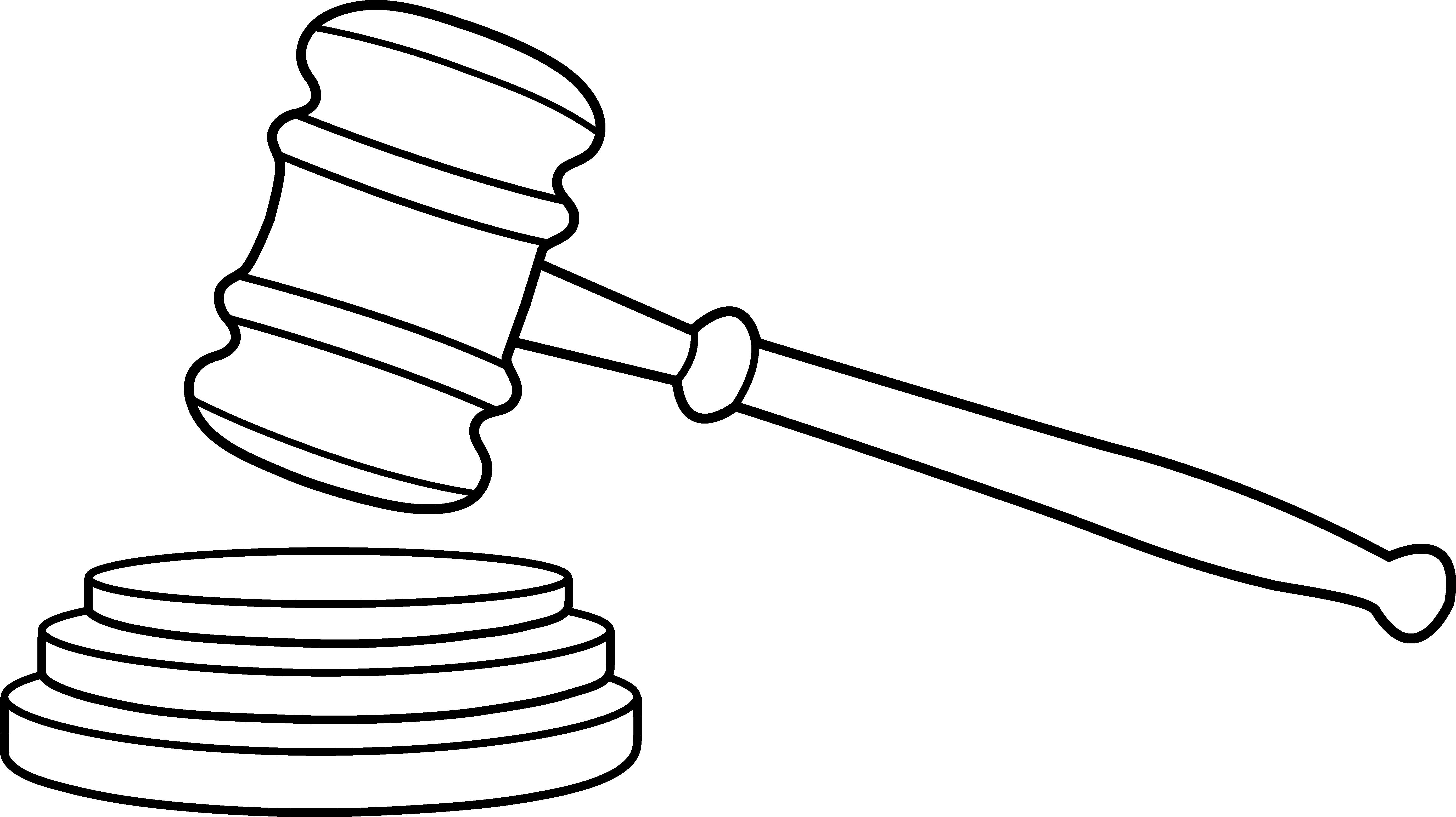 Clip Art Judge Gavel