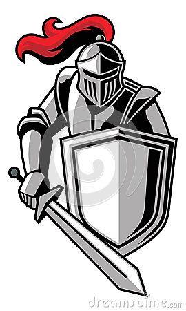 clip art knight shields .