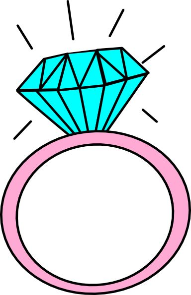 Clip art u0026middot; Engagement Ring ...
