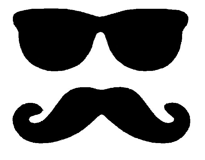 Clip Art Mustache - clipartall