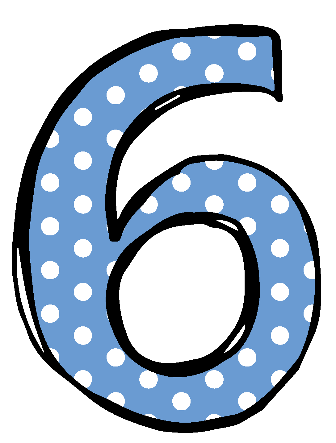 Clip Art Numbers 1