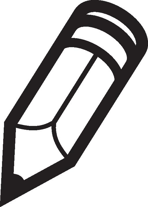 Clip Art Of A Pencil