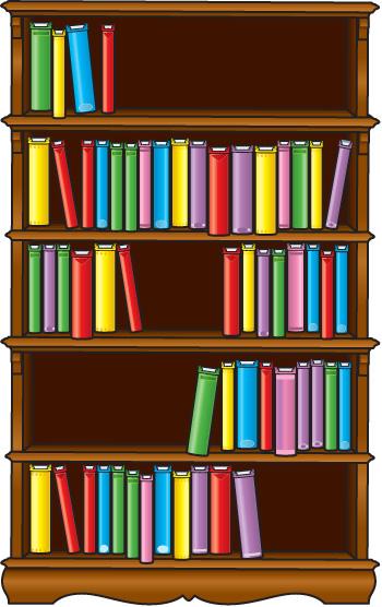 Clip Art Of Bo Bookshelves