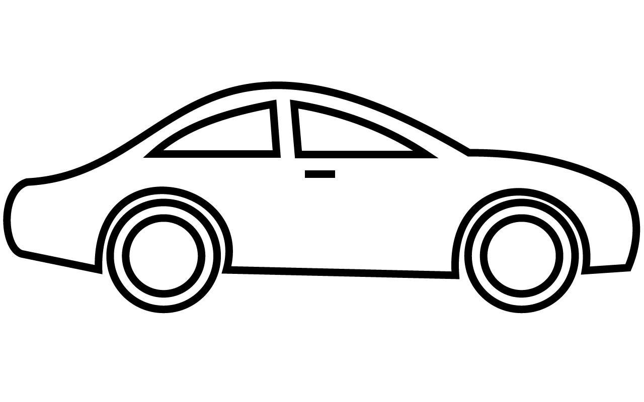 Clip art of car clipart image 2