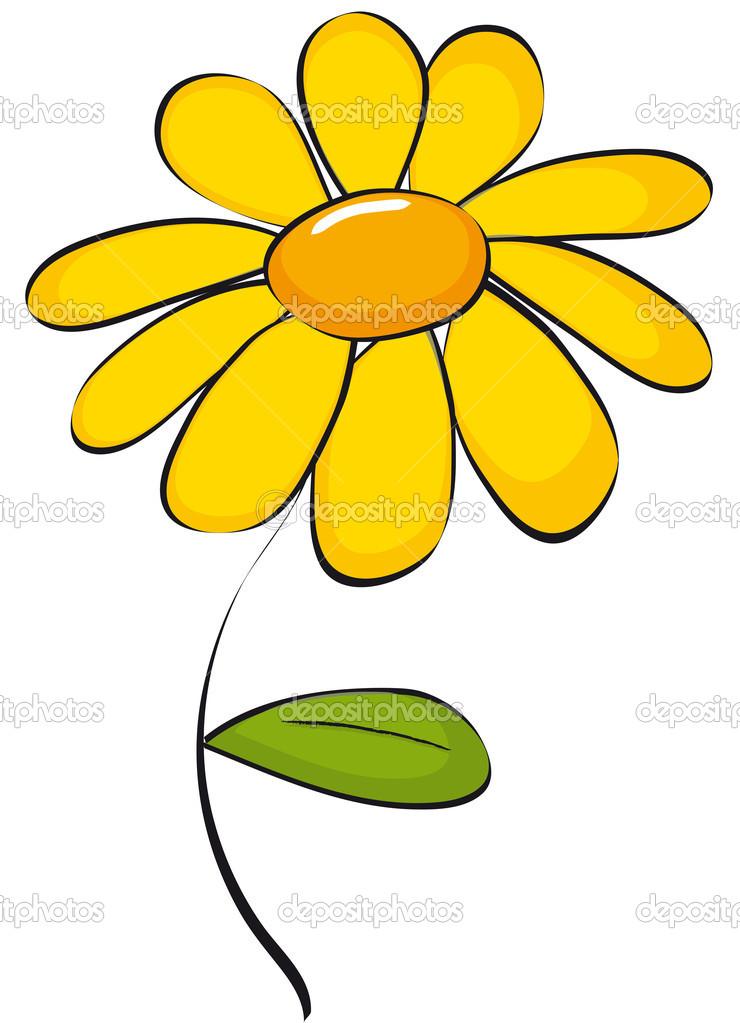 Clip art of daisyu2014 Vector by Marcinska