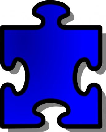 Clip Art of Puzzle Pieces