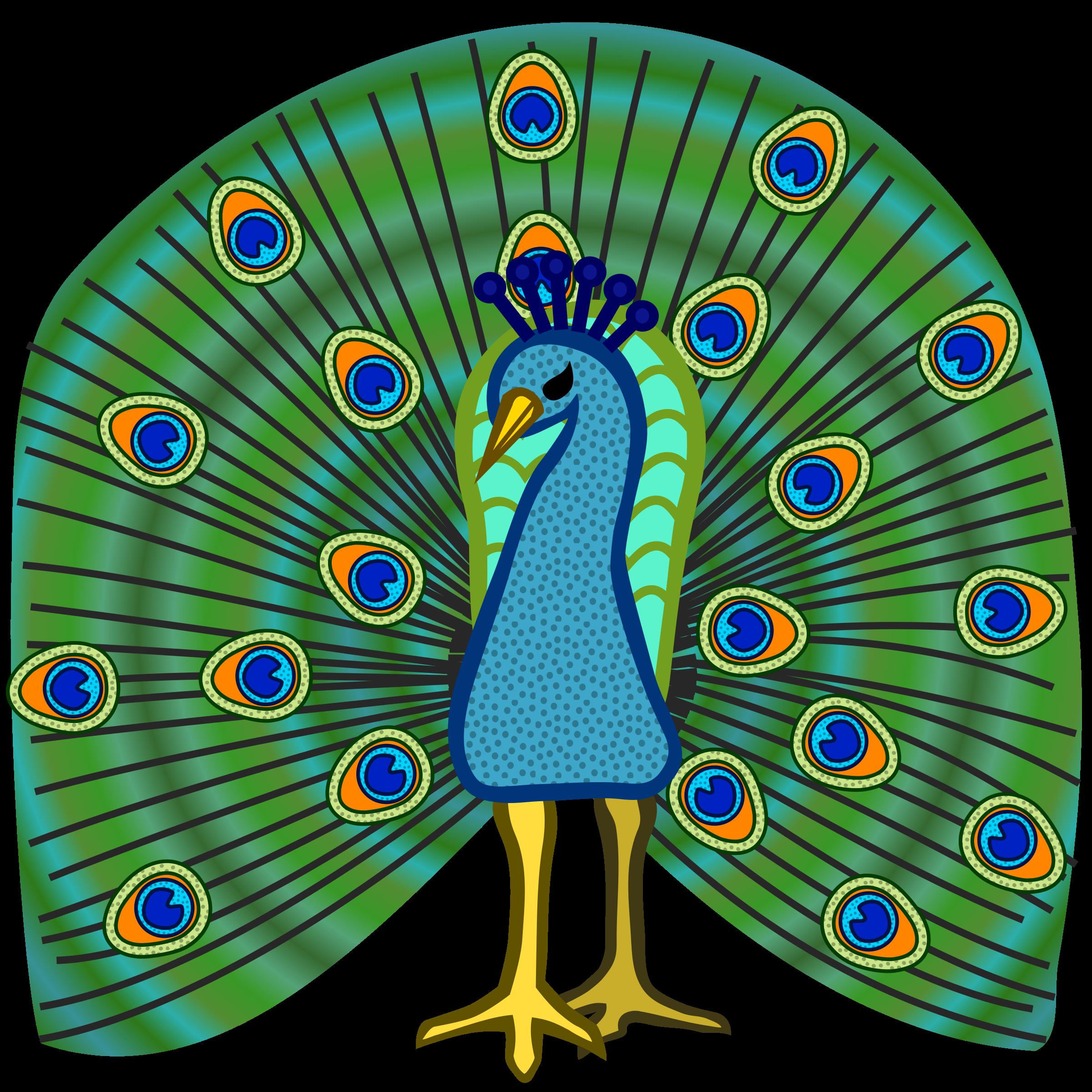... Clip art peacock ...