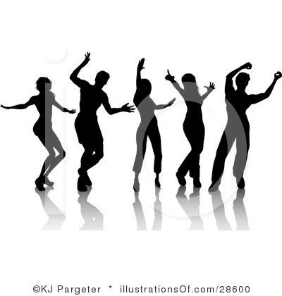 Clip Art People Dancing Dance Team Clip Art Free