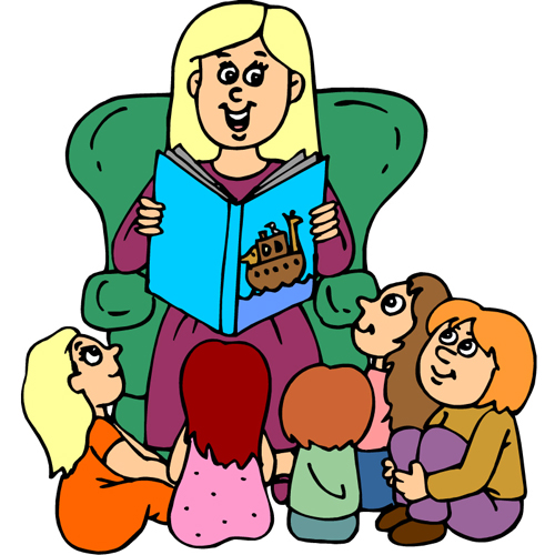 Clip Art Person With Story Clipart