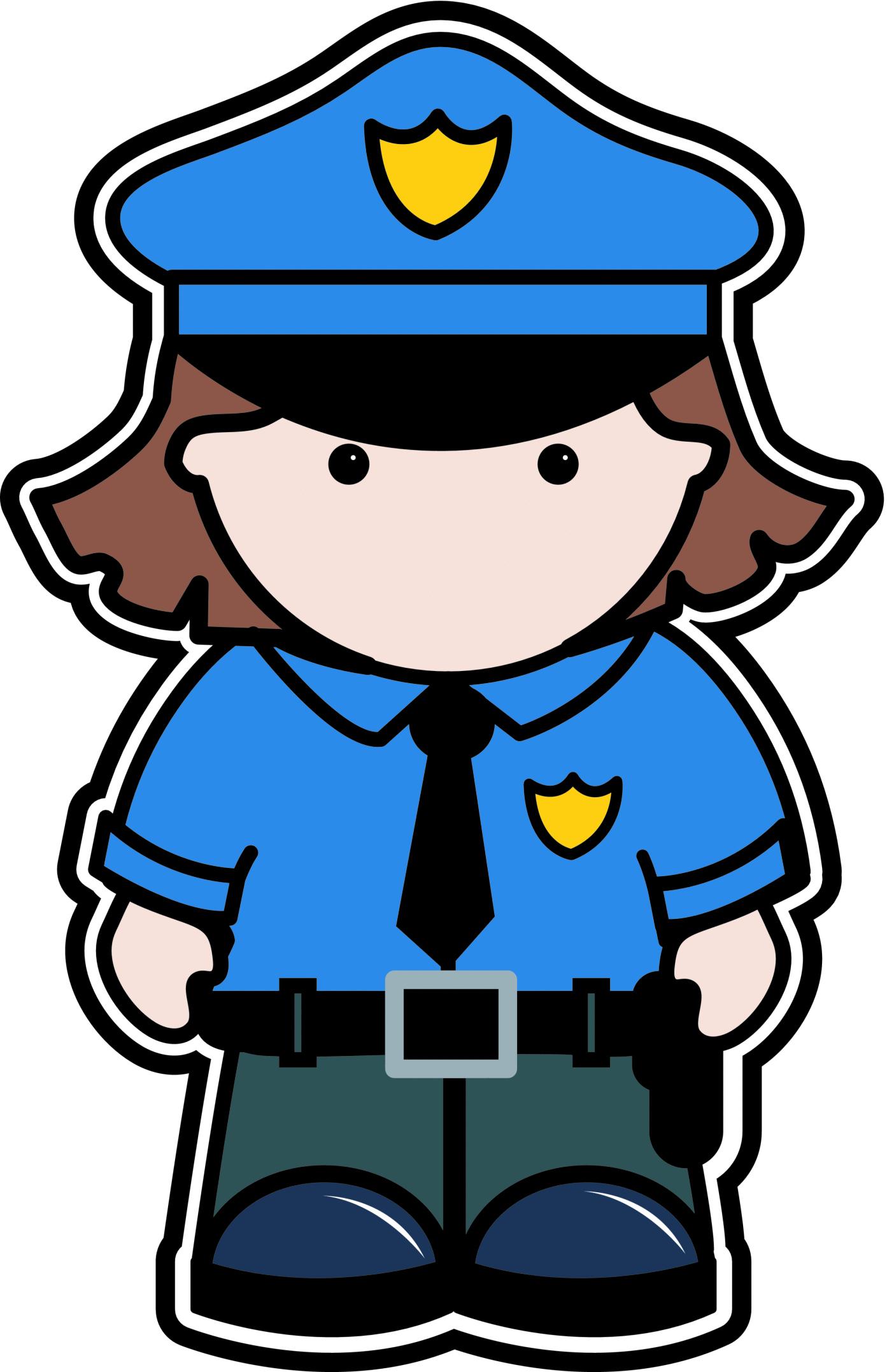 Clip art police clipart image 1