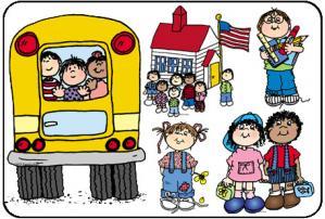 Clip Art: School Days