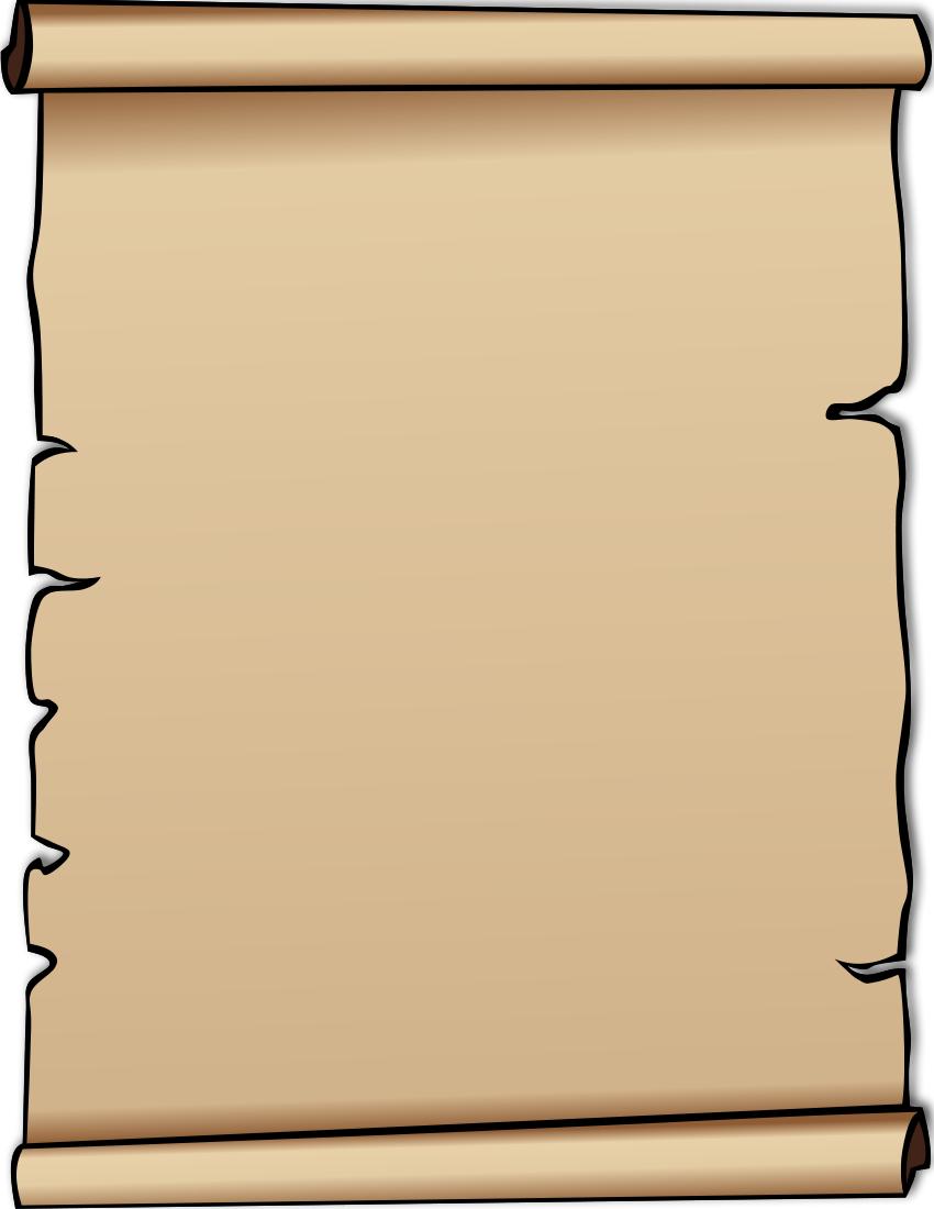 Clip Art Scroll #16188