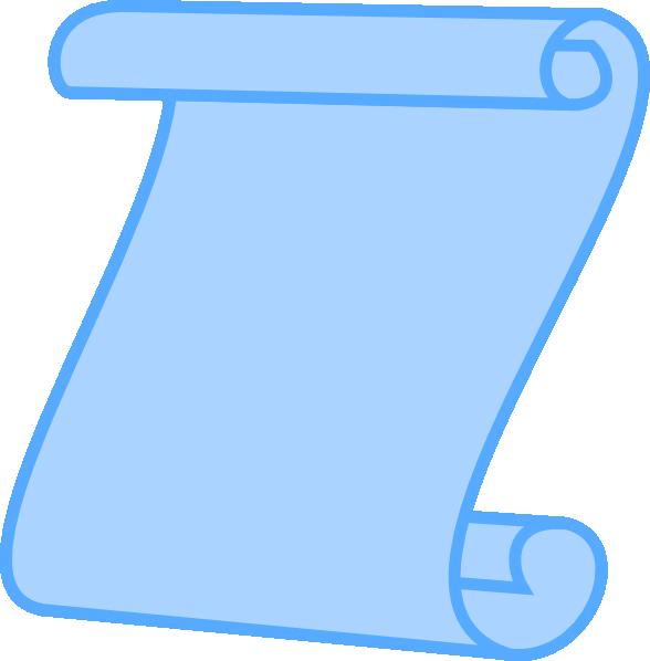 Clip art scroll