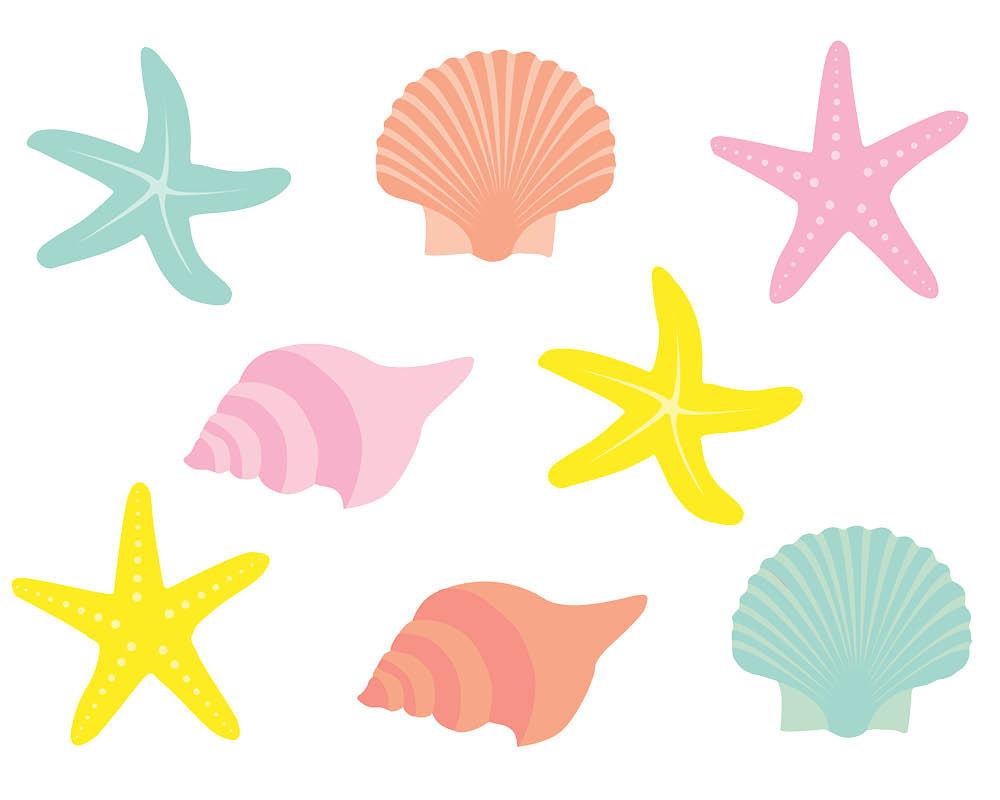 Clip Art Seashell Clip Art seashells clip art clipartall shells clipart art