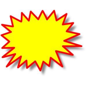 Clip art starburst clipart .