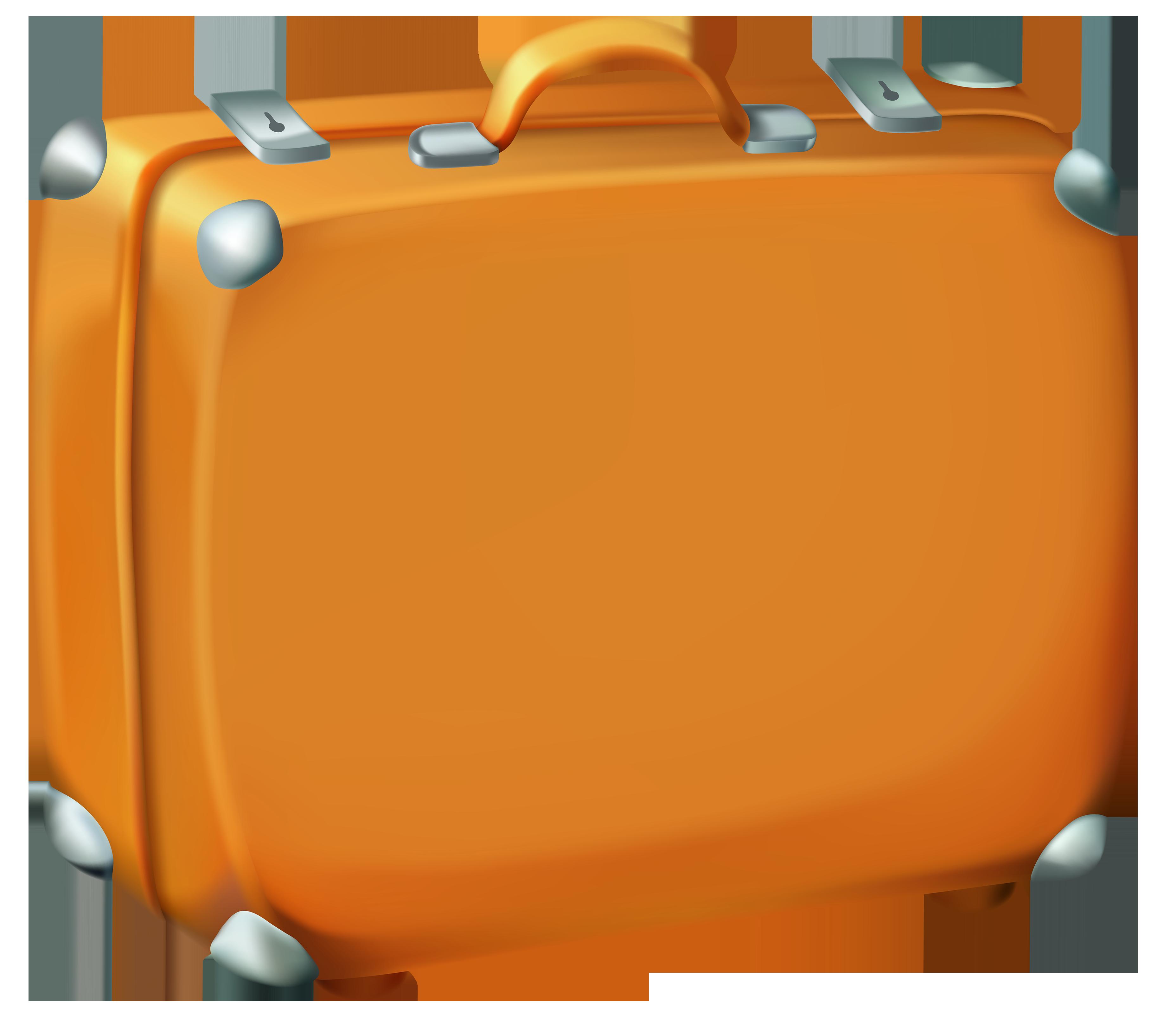 Clip Art Suitcase Clipart suitcase clipart clipartall brown image