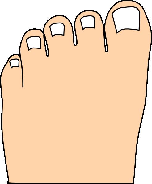 Clip Art Toes Toes Full Color Clip Art