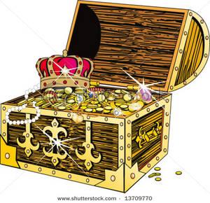 Clip Art Treasure Chest Clipart pirate treasure chest clipart free clipartall clipart