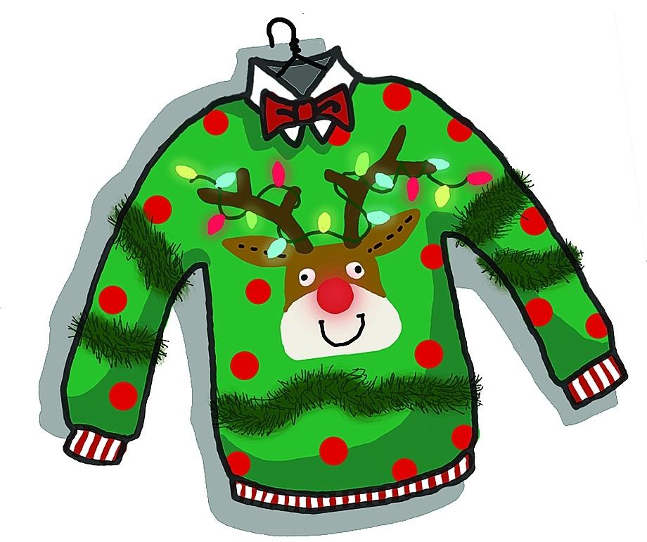 Clip Art Ugly Christmas .