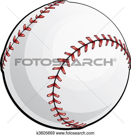 Clip Art. Vector Baseball